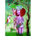 Puzzle  Gold-Puzzle-61369 Adam et Eve