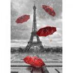 Puzzle  Gold-Puzzle-61383 La Tour Eiffel et les Parapluies Volants
