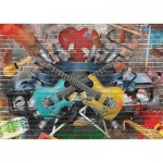 Puzzle  Gold-Puzzle-61437 Graffiti Musical