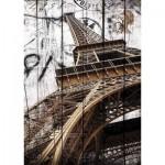 Puzzle  Gold-Puzzle-61451 Tour Eiffel Vintage