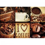 Puzzle  Gold-Puzzle-61550 I Love Coffee