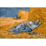 Puzzle  Grafika-Kids-00001 Pièces XXL - Van Gogh Vincent : La Sieste (d'après Millet), 1890