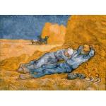 Puzzle  Grafika-Kids-00002 Van Gogh Vincent : La Sieste (d'après Millet), 1890