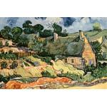 Puzzle  Grafika-Kids-00009 Vincent Van Gogh : Les chaumes de Cordeville, 1890