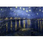 Puzzle  Grafika-Kids-00010 Pièces XXL - Vincent Van Gogh : La Nuit Etoilée, 1888