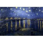 Puzzle  Grafika-Kids-00012 Vincent Van Gogh : La Nuit Etoilée, 1888