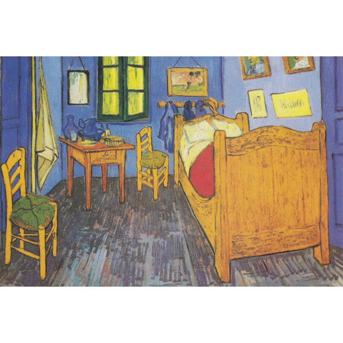 Vincent Van Gogh : La Chambre de Van Gogh à Arles, 1888