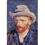 Puzzle  Grafika-Kids-00019 Pièces XXL - Vincent Van Gogh : Autoportrait, 1887-1888