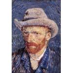 Puzzle  Grafika-Kids-00021 Vincent Van Gogh : Autoportrait, 1887-1888