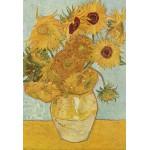 Puzzle  Grafika-Kids-00031 Pièces XXL - Van Gogh Vincent : Vase avec douze tournesols, 1888
