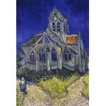 Puzzle  Grafika-Kids-00034 Pièces XXL - Vincent van Gogh : L'église d'Auvers-sur-Oise, 1890