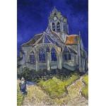 Puzzle  Grafika-Kids-00036 Vincent Van Gogh : L'église d'Auvers-sur-Oise, 1890