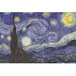 Puzzle  Grafika-Kids-00039 Vincent Van Gogh : La Nuit étoilée sur le Rhône, 1889
