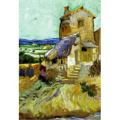 Puzzle Grafika-Kids-00043 Pièces XXL - Vincent Van Gogh : Le Vieux Moulin, 1888