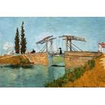 Puzzle  Grafika-Kids-00048 Van Gogh Vincent : Pont de Langlois en Arles, 1888