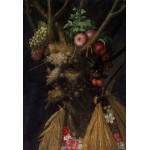 Puzzle  Grafika-Kids-00049 Pièces XXL - Arcimboldo Giuseppe : Quatre Saisons en Une Tête, 1590