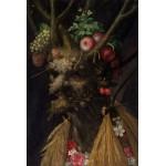 Puzzle  Grafika-Kids-00051 Arcimboldo Giuseppe : Quatre Saisons en Une Tête, 1590