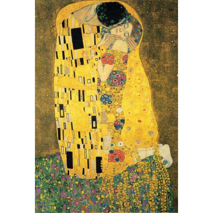 Klimt Gustav : Le Baiser, 1907-1908