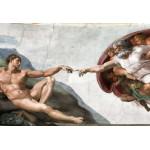 Puzzle  Grafika-Kids-00072 Pièces XXL - Michel Ange : La Création d'Adam de la chapelle Sixtine, 1508-1512