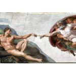 Puzzle  Grafika-Kids-00074 Michel Ange : La Création d'Adam de la chapelle Sixtine, 1508-1512