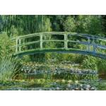 Puzzle  Grafika-Kids-00093 Monet Claude : Le Bassin aux Nymphéas et le Pont Japonais, 1897-1899