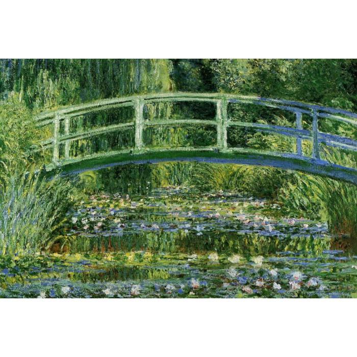 Monet Claude : Le Bassin aux Nymphéas et le Pont Japonais, 1897-1899