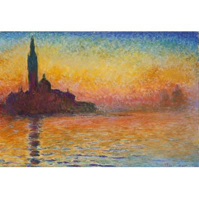 Puzzle Grafika-Kids-00095 Pièces XXL - Claude Monet : Saint-Georges-Majeur au Crépuscule, 1908