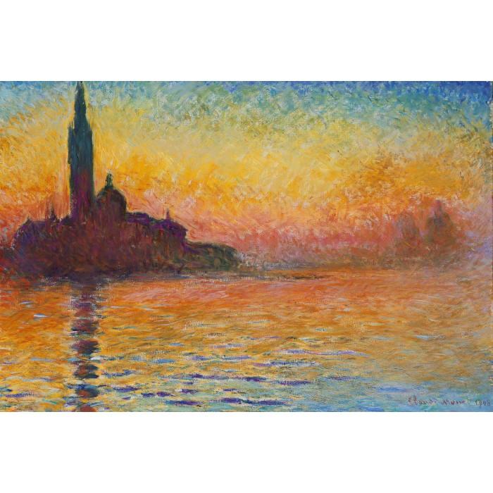 Claude Monet : Saint-Georges-Majeur au Crépuscule, 1908