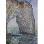Puzzle  Grafika-Kids-00099 Claude Monet : Le Manneporte à Étretat, 1886