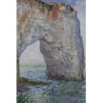 Puzzle  Grafika-Kids-00100 Claude Monet : Le Manneporte à Étretat, 1886