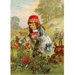 Puzzle  Grafika-Kids-00105 Le Petit Chaperon Rouge, illustration par Carl Offterdinger