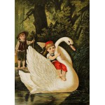 Puzzle  Grafika-Kids-00114 Hansel et Gretel, illustration par Carl Offterdinger