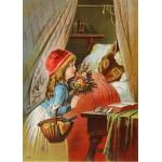 Puzzle  Grafika-Kids-00120 Le Petit Chaperon Rouge, illustration par Carl Offterdinger