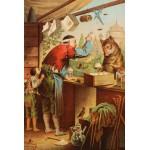 Puzzle  Grafika-Kids-00127 Carl Offterdinger : Le Loup et les sept Chevreaux