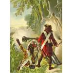 Puzzle  Grafika-Kids-00144 Robinson Crusoe par Offterdinger & Zweigle