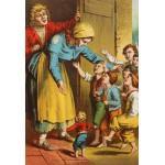 Puzzle  Grafika-Kids-00146 Pièces XXL - Carl Offterdinger : Le Petit Poucet