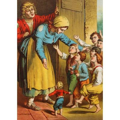 Puzzle Grafika-Kids-00147 Carl Offterdinger : Le Petit Poucet