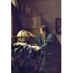 Puzzle  Grafika-Kids-00158 Pièces XXL - Vermeer Johannes : L'Astronome, 1668
