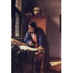 Puzzle  Grafika-Kids-00161 Pièces XXL - Vermeer Johannes: Le Géographe, 1668-1669