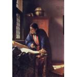 Puzzle  Grafika-Kids-00163 Vermeer Johannes: Le Géographe, 1668-1669