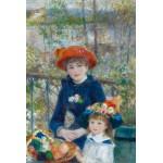 Puzzle  Grafika-Kids-00166 Auguste Renoir : Deux Soeurs sur la Terrasse, 1881