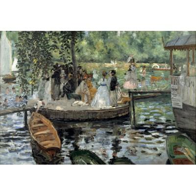 Puzzle Grafika-Kids-00176 Pièces XXL - Auguste Renoir : La Grenouillère, 1869
