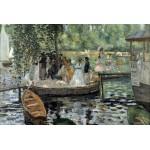 Puzzle  Grafika-Kids-00178 Auguste Renoir : La Grenouillère, 1869