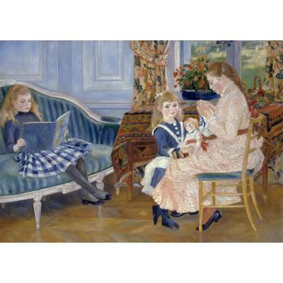 Puzzle Grafika-Kids-00183 Auguste Renoir : L'après-midi des enfants à Wargemont, 1884