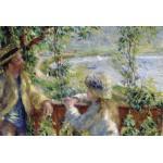 Puzzle  Grafika-Kids-00187 Renoir Auguste : Près du Lac, 1879