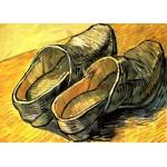 Puzzle  Grafika-Kids-00202 Pièces Magnétiques - Vincent Van Gogh : Une Paire de Sabots en Cuir, 1888