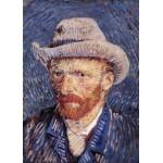 Puzzle  Grafika-Kids-00204 Pièces Magnétiques - Vincent Van Gogh : Autoportrait, 1887-1888