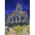 Puzzle  Grafika-Kids-00209 Pièces Magnétiques - Vincent Van Gogh : L'église d'Auvers-sur-Oise, 1890
