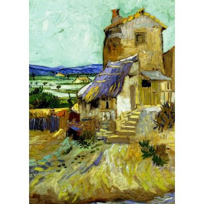 Puzzle Grafika-Kids-00212 Pièces Magnétiques - Vincent Van Gogh : Le Vieux Moulin, 1888