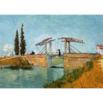 Puzzle Grafika-Kids-00213 Pièces Magnétiques - Van Gogh Vincent : Pont de Langlois en Arles, 1888